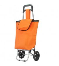 2 Wheel Multi-Functional Eco-friendly Trolley Bag (Orange)