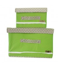2in1 Extra Large Non Woven Storage Living Box Set
