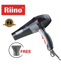 Riino Salon Grade Professional 2600W Hot & Cold Air Heat Hair Dryer