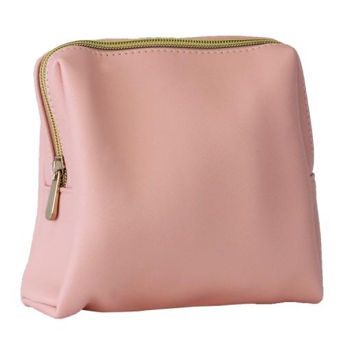 Waterproof Durable Zipper Cosmetic Storage Pouch (Pink)