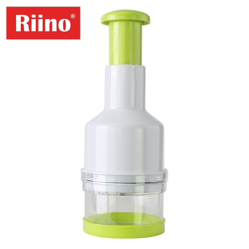 Riino Essential Kitchen Tool ABS + Stainless Steel Blade Food Chopper