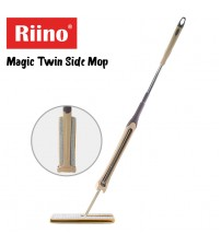 Riino 360° Double Sided Flat Mop Hand Free 38cm Microfiber Lazy Flat Mop