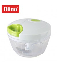 Riino Essential Kitchen Tool Stainless Steel Blade Mini Chopper
