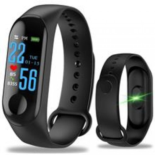 M3 Bluetooth Smart Watch Fitness Tracker Waterproof Smart Band