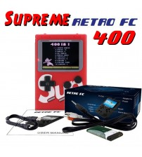 G4 SUP Retro FC Game Boy Console Built-In 400 Games 3.0 Inch