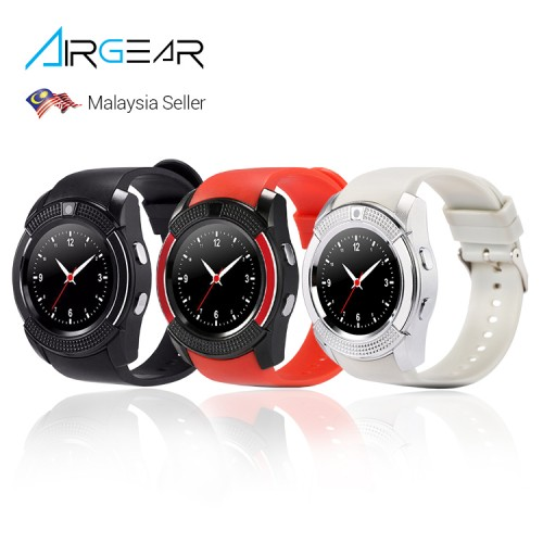 AirGear V8 Bluetooth Smart Watch TF SIM Sport Smartwatch