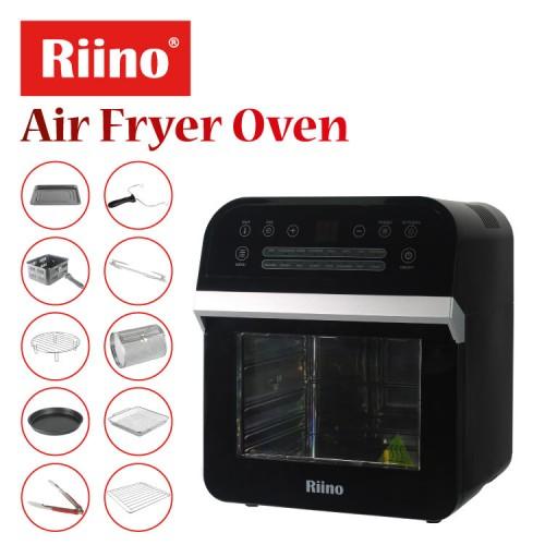 Riino Multi-Purpose Digital 16 Preset Menus Air Fryer And 360° Rotisserie Oven