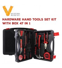 47 in 1 Hardware Hand Tool Set Kit With Box (Plier, Screwdriver,etc)