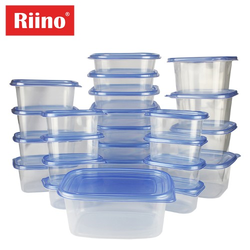 Riino 50pcs Multifunctional Food Container Inlcuding Lid