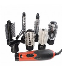 [7 in 1] Multi-function Hair Styling Sets Hair Dryer Hair Curler