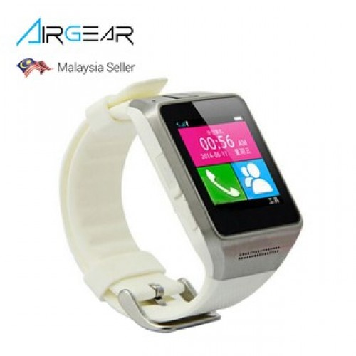 "AirGear 1.5"" GV08 Touch Screen Smart Watch SIM slot and Camera"