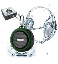 C6 Bluetooth Speaker Mini Portable Waterproof FM Radio
