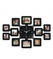 Fashion Wall Clock with 12 pcs Photo Frame Limited Edition