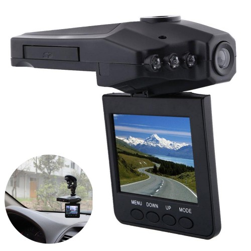 HD Portable DVR with 2.5 TFT LCD Screen Driving Recorder