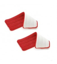 Twin Packs of Reusable Spray Mop Microfiber Cleaning Pads