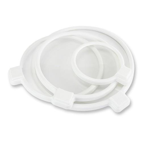 Riino Clear Sealed Fresh Smart Lid Food Lid 4 pcs Set Cover