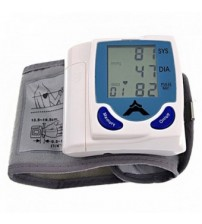 Accurate Digital Wrist Blood Pressure Monitor & Heart Beat Meter
