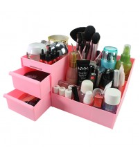 Multifunctional Korean Style Jewelry Cosmetics Make Up Storage Box