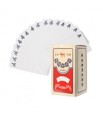 Mahjong Card Set Classic Plastic Mahjong Poker Card [144 pcs]