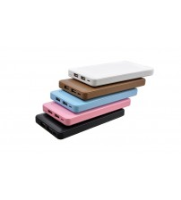 iBattery Leather Wallet Powerbank 20000mAh Ultra Slim Power Bank 2.1