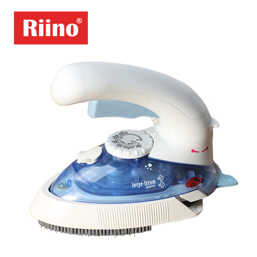 Mini Iron Garment Steamer 2 in 1 Portable 180 Degree Turn Handle