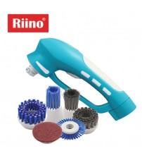 RiiNO Cordless Electrical Rechargeable Power Cleaning Scrubber