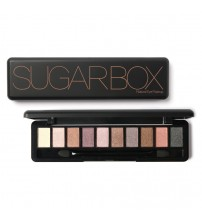 SUGAR BOX Natural Ten Color Eye Shadow Makeup Shimmer Matte Palette Set
