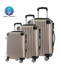 Cosmic Traveller 3in1 ABS Hard Case Business Protector Travel Luggage Set