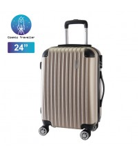 "Cosmic Traveler 24"" ABS Hard Case Business Protector Travel Luggage Bag"