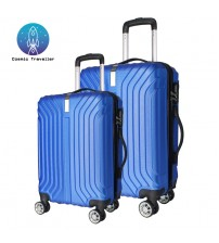 Cosmic Traveller SONIC ABS Travel Luggage Bag 2IN1 set [TL-SAM-GRY-2IN1]