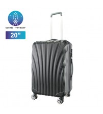 Cosmic Traveller 20'' Travel Luggage ABS Hard Case Shell Curve Shape Luggage Bag